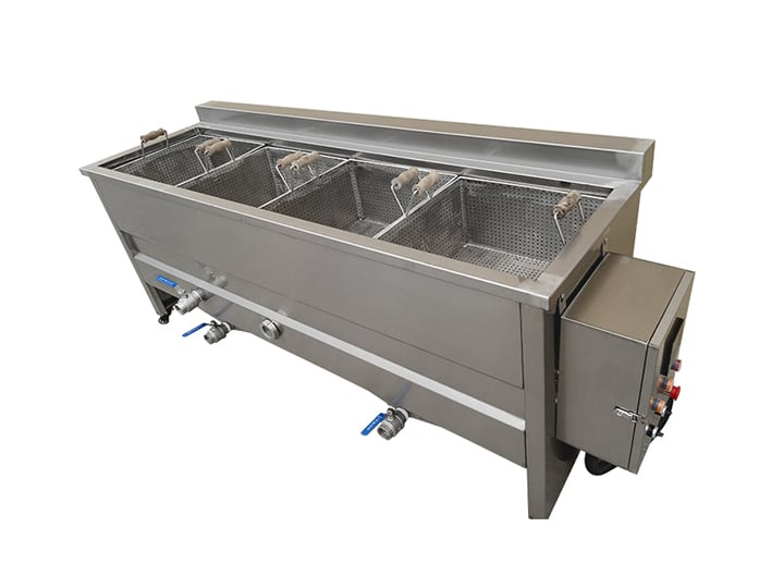 electric heating square fryer