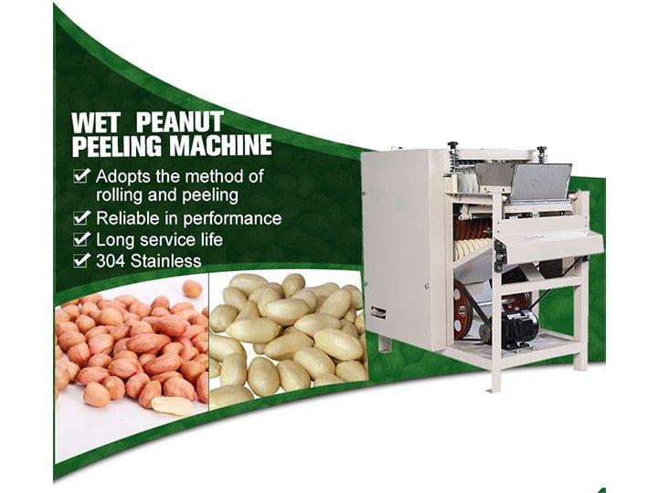 peanut peeling machine