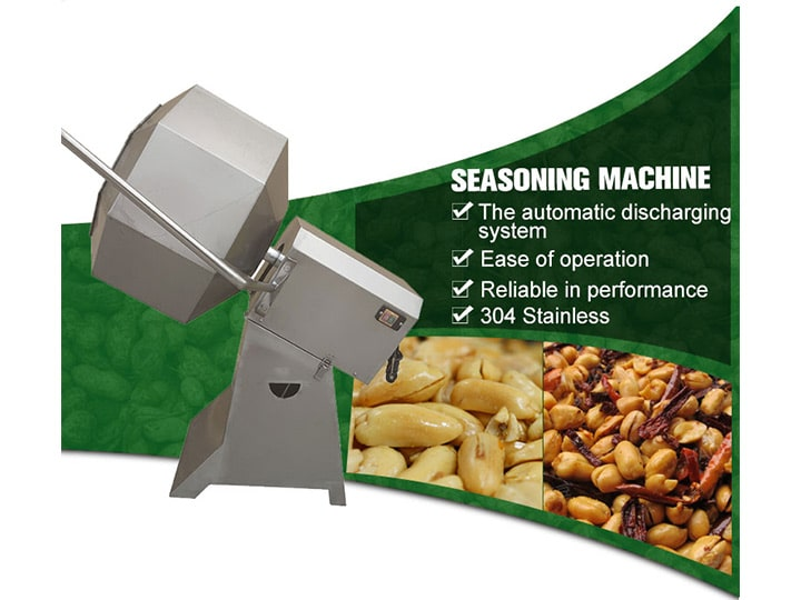 fried peanut seasoning machine