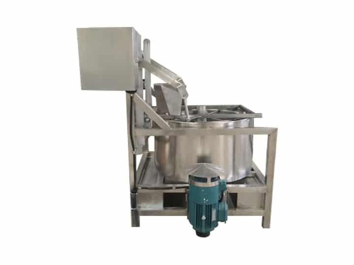 upper discharge de-oiling machine