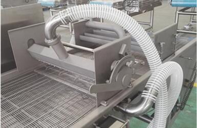 battering machine slurry device