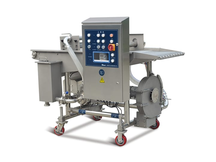 batter coating machine