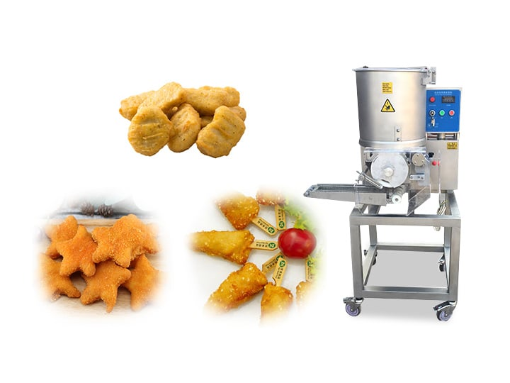 hamburger patty forming machine