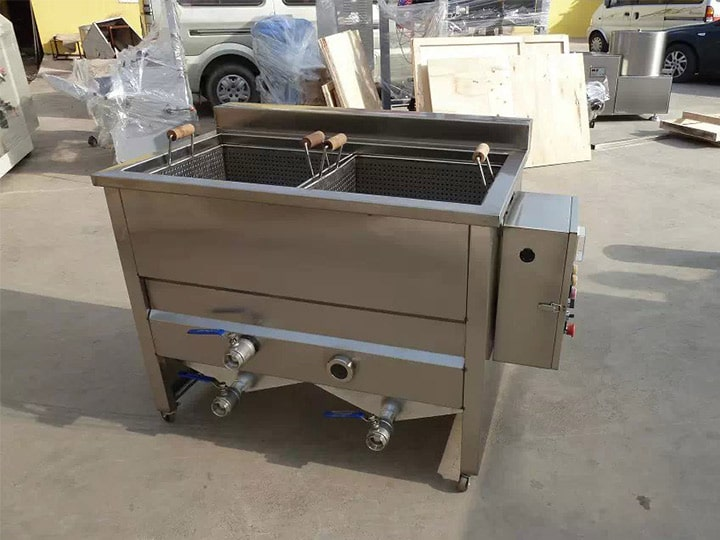 100kg per hour electric heating commercial fryer