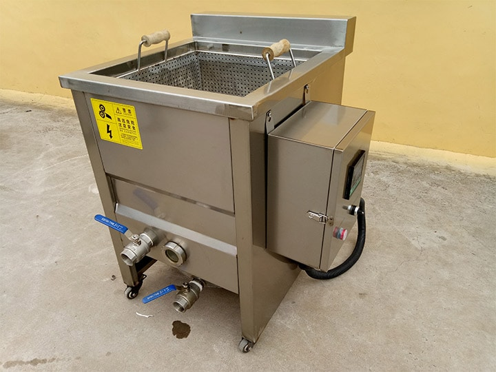 50kg per hour electric heating commercial fryer
