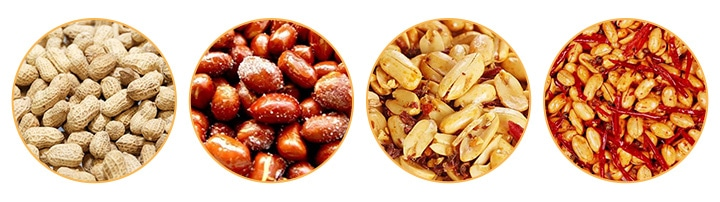 commercial peanut fryer machine fry peanut