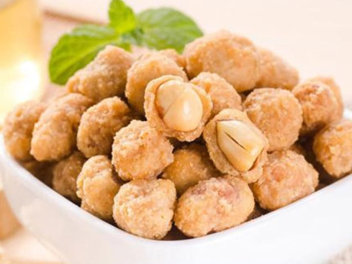 fried flour coated peanut