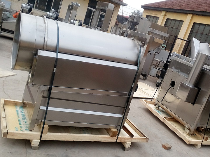 food seasoning machine delivered to Germany