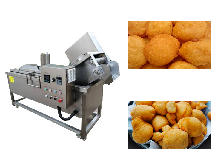 Commercial AKara frying machine