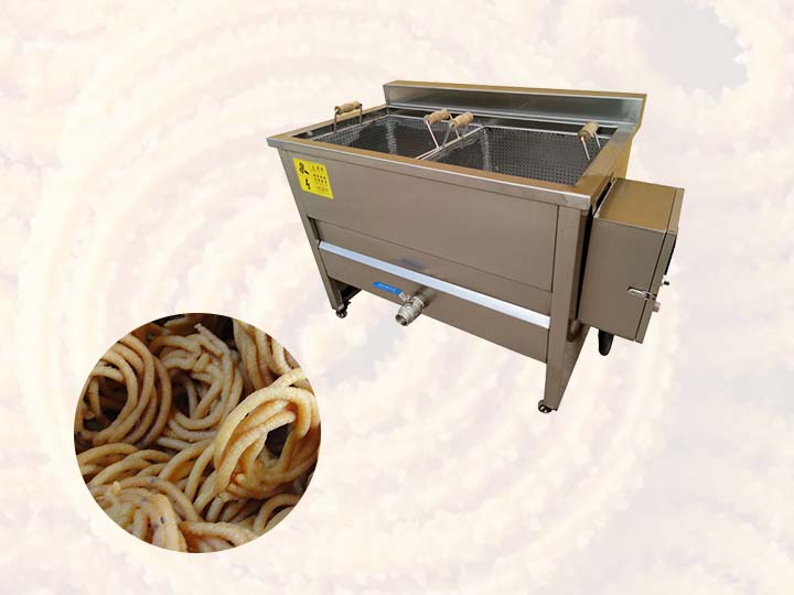 Commercial chakli fryer
