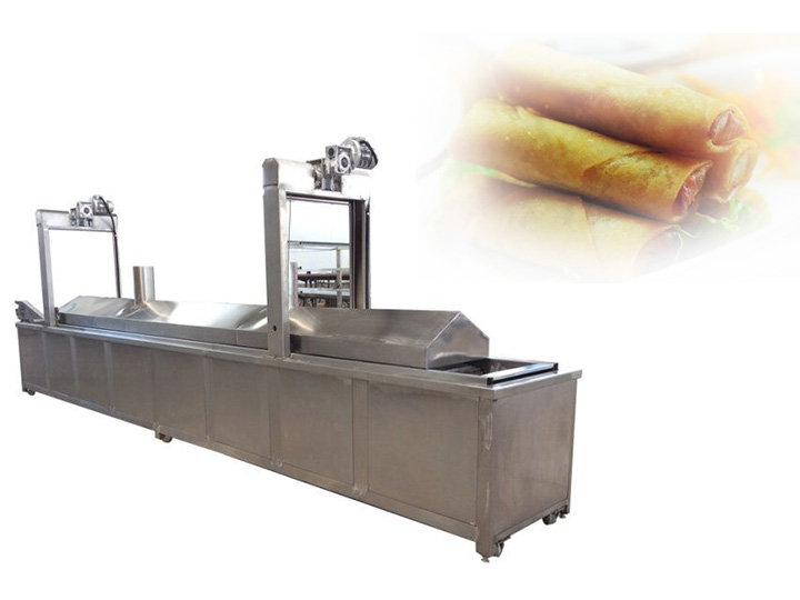 Lumipa frying machine in Indonesia