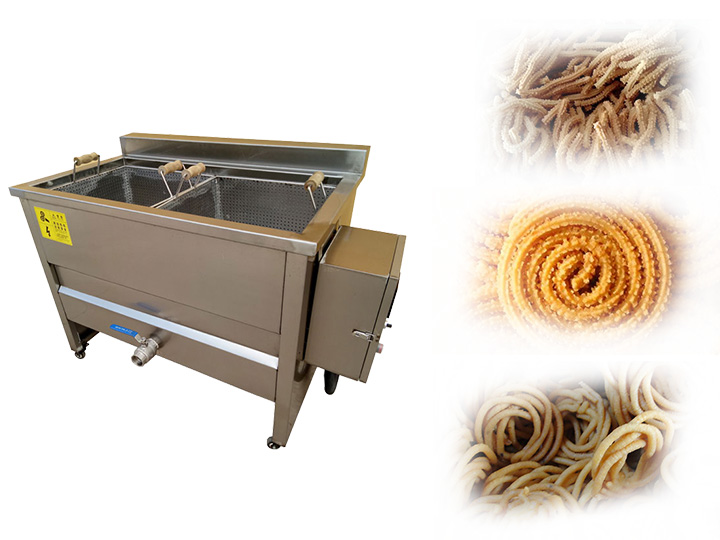 commercial Chakli frying machine