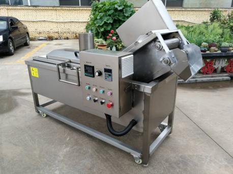 electric spring roll frying machine