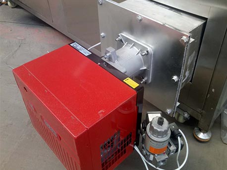 gas spring roll fryer