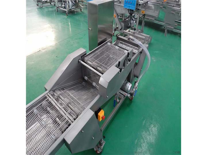 automatic tempura coating machine