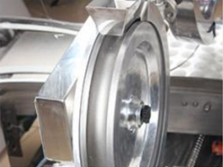energy ball making machine rolling part