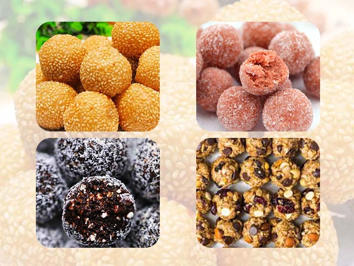 protein ball making machine application