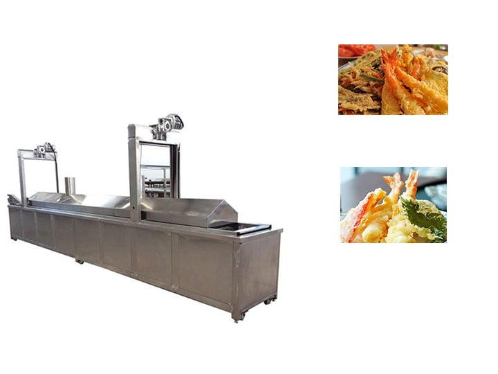 Tempura shrimp deep fryer