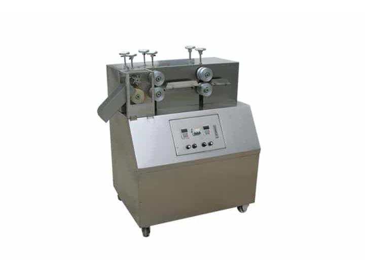 cheese puffs cutting machine